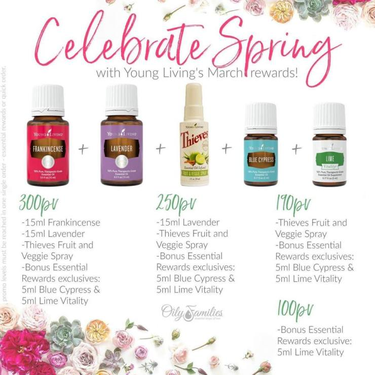 march promotion young living