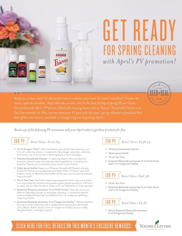 april young living promotion spring binghamton