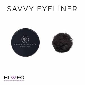 savvy mineral makeup eyeshadow eyelinger young living