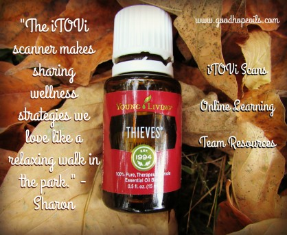 itovi scanner business building young living