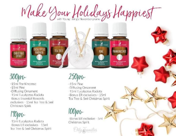 make your holidays happier young living binghamton johnson city new york manhattan christmas spirit pine eucalyptus