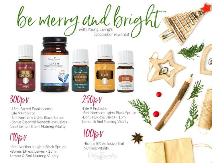 december promos young living binghamton